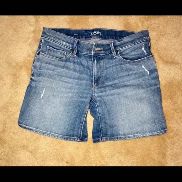 LOFT Pants - Denim Shorts